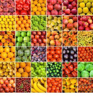Verduras colores